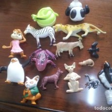 Figuras de Goma y PVC: LOTE FIGURAS/MUÑECOS DE ANIMALES PVC. Lote 99130835