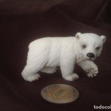 Figuras de Goma y PVC: CACHORRO OSO POLAR ANIMALES SCHLEICH . Lote 99146523