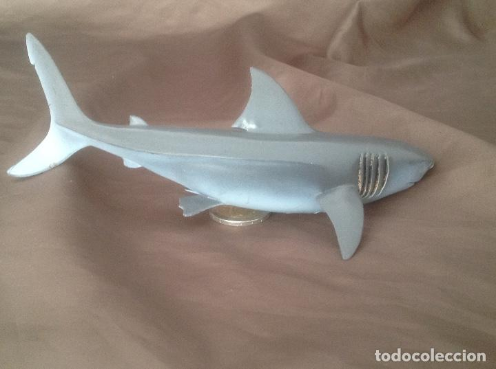 Figuras de Goma y PVC: Tiburón azul animales schleich 1999 - Foto 2 - 99146587