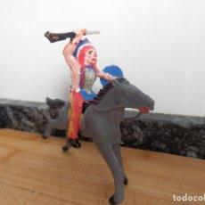 Figuras de Goma y PVC: FIGURA DE PVC DE LA BATALLA LITTLE BIG HORN INDIO CHEYENE TORO SENTADO. Lote 99206763