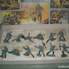 Figuras de Goma y PVC: CAJA DE SOLDADOS DE LA II GUERRA MUNDIAL DE GOMA. Lote 99385270