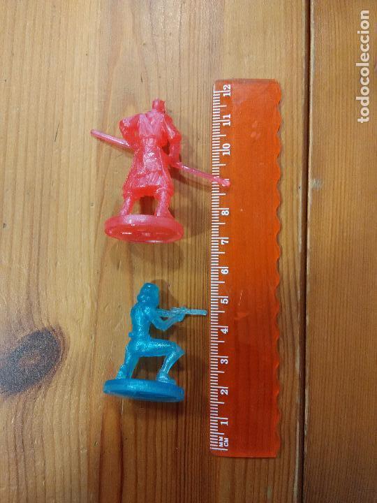 Figuras de Goma y PVC: 2 FIGURAS DE GOMA - STAR WARS - Darth Maul y soldado imperial - Foto 2 - 99297051