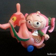 Figuras de Goma y PVC: FIGURA MUÑECO GOMA PVC SNORKELS SNORKEL EN CABALLITO DE MAR DE GUISVAL. Lote 99401423