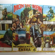 Figuras de Goma y PVC: SOBRE MONTA MAN EXTRA 6 MILITAR EJÉRCITO FIGURA MONTAMAN MONTAPLEX MONTA PLEX. Lote 125197859