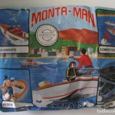 Figuras de Goma y PVC: SOBRE MONTA MAN EXTRA 15 LANCHA SALVAMENTO FIGURA MONTAMAN MONTAPLEX MONTA PLEX. Lote 99451715