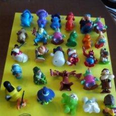 Figuras Kinder: MUÑECOS QUE SALIAN EN HUEVOS KINDER HAY 33. Lote 99511447