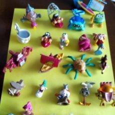 Figuras Kinder: MUÑECOS QUE SALIAN EN HUEVOS KINDER HAY 25. Lote 99514451