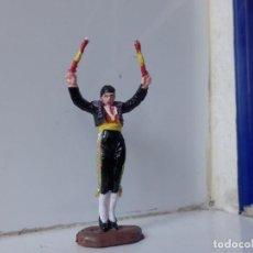 Figuras de Goma y PVC: JECSAN TORO TORERO BANDERILLERO . Lote 99518471