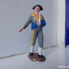 Figuras de Goma y PVC: JECSAN TORO TORERO BANDERILLERO . Lote 99518523