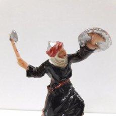 Figuras de Goma y PVC: MORO - SARRACENO . REALIZADO POR JECSAN . SERIE BEN YUSUF . ORIGINAL AÑOS 60. Lote 99714807