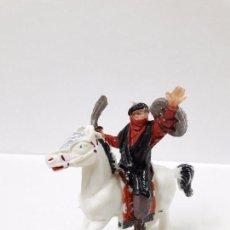 Figuras de Goma y PVC: BEN YUSUF A CABALLO . REALIZADO POR JECSAN . SERIE BEN YUSUF . ORIGINAL AÑOS 60. Lote 99715867