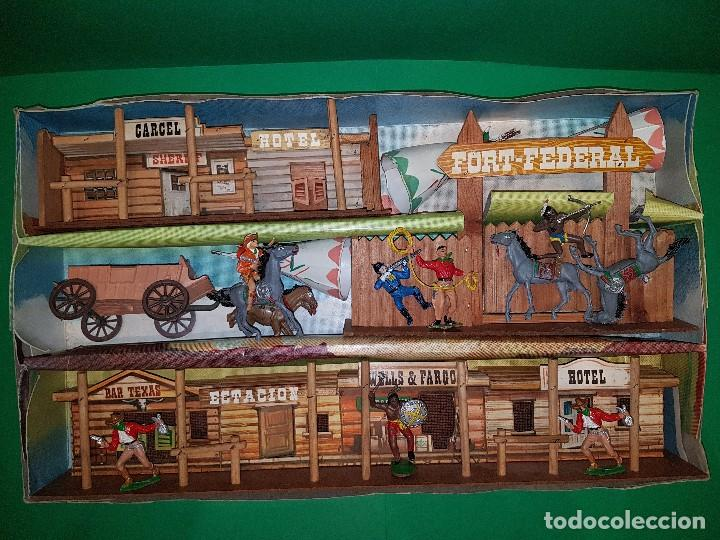 Figuras de Goma y PVC: COMANSI-TODO EL OESTE AMERICANO-REF 171, AÑOS 60 - Foto 2 - 99731563