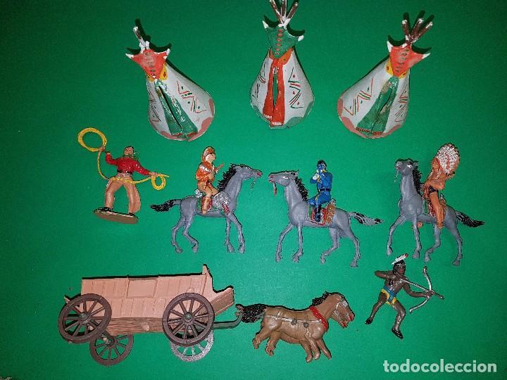 Figuras de Goma y PVC: COMANSI-TODO EL OESTE AMERICANO-REF 171, AÑOS 60 - Foto 4 - 99731563
