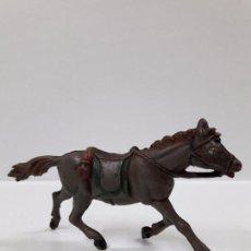 Figuras de Goma y PVC: CABALLO PARA VAQUERO - COWBOY . REALIZADO POR PECH . AÑOS 50 EN GOMA. Lote 99751619