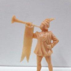 Figuras de Goma y PVC: FIGURA MOLDE REAMSA . SERIE LA CORTE DEL CASTILLO FEUDAL . MONOCOLOR. Lote 99785803