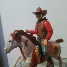 Figuras de Goma y PVC: PECOS BILL THE WILD WEST FIGURA PVC COMANSI WESTERN OESTE HEROES WEST. Lote 99852299