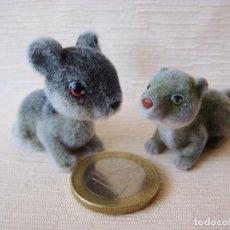 Figuras de Goma y PVC: ANIMAL MINIATURA. ANIMALES MEG-2005. RATA Y RATÓN. Lote 99853487
