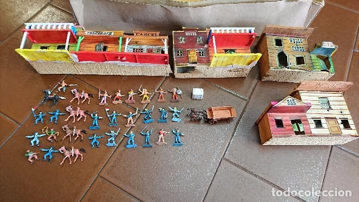 Figuras de Goma y PVC: MÍNI-OESTE COMANSI, DODGE CIUDAD SIN LEY - Foto 3 - 99934499