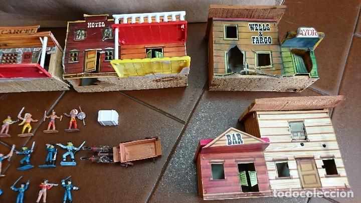 Figuras de Goma y PVC: MÍNI-OESTE COMANSI, DODGE CIUDAD SIN LEY - Foto 4 - 99934499