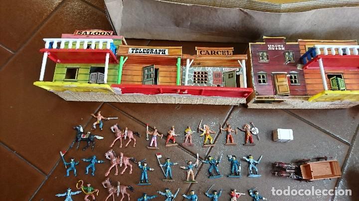 Figuras de Goma y PVC: MÍNI-OESTE COMANSI, DODGE CIUDAD SIN LEY - Foto 5 - 99934499