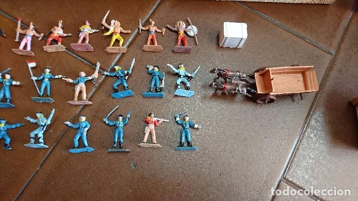 Figuras de Goma y PVC: MÍNI-OESTE COMANSI, DODGE CIUDAD SIN LEY - Foto 7 - 99934499