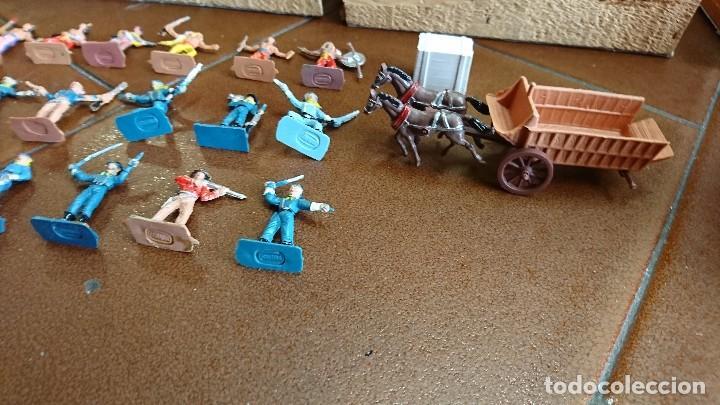 Figuras de Goma y PVC: MÍNI-OESTE COMANSI, DODGE CIUDAD SIN LEY - Foto 8 - 99934499