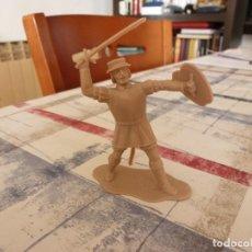 Figuras de Goma y PVC: REAMSA SERIE HERNÁN CORTÉS CONQUISTADORES Y AZTECAS. Lote 99938859