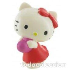 Figuras de Goma y PVC: FIGURA PVC HELLO KITTY CORAZON - HELLO KITTY - ORIGINAL COMANSI. Lote 100044347