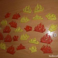 Figuras de Goma y PVC: BARCOS MONTAPLEX , CREO. Lote 100387979