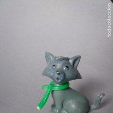 Figuras de Goma y PVC: FIGURA DUNKIN TITO ARISTOGATO DISNEY DETERGENTE SKIP. Lote 100398255