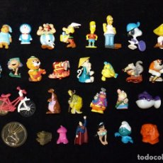 Figuras Kinder: LOTE DE 24 FIGURAS VARIADAS KINDER + 5 VARIOS. Lote 100421019