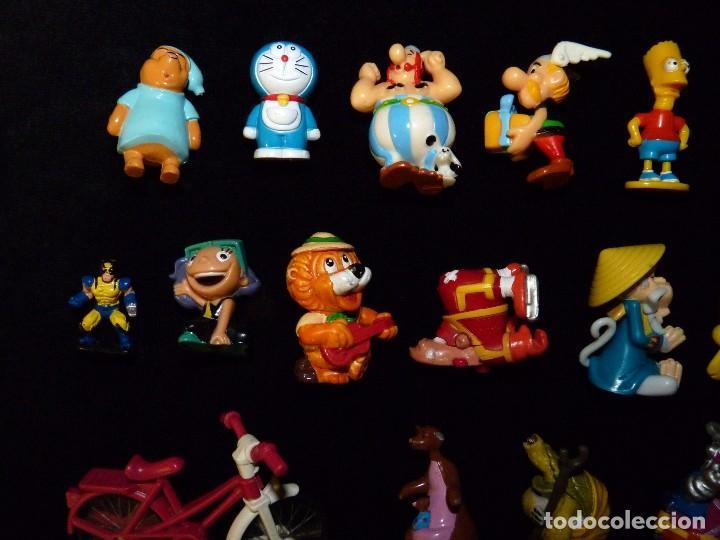 Figuras Kinder: LOTE DE 24 FIGURAS VARIADAS KINDER + 5 VARIOS - Foto 7 - 100421019
