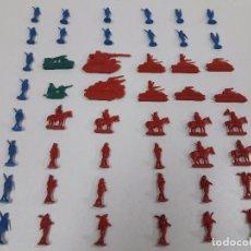 Figuras de Goma y PVC: LOTE DE SOLDADITOS TIPO MONTAPLEX . PLANOS. Lote 100518111
