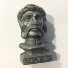 Figuras de Goma y PVC: CABEZA BUSTO LEJANO OESTE DUNKIN GRAL GRANT. Lote 100585475