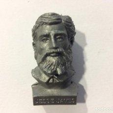 Figuras de Goma y PVC: CABEZA BUSTO LEJANO OESTE DUNKIN JESSE JAMES. Lote 100585715