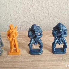 Figuras de Goma y PVC: LOTE 4 FIGURAS DE EL SEÑOR DE LOS ANILLOS. Lote 100648419