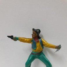 Figuras de Goma y PVC: VAQUERO - COWBOY PARA CABALLO . REALIZADO POR PECH . AÑOS 50 EN GOMA. Lote 100750847