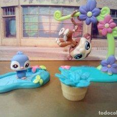 Figuras de Goma y PVC: RDP MUÑECO MASCOTA LOTE PET SHOP HASBRO . Lote 101116051