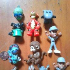 Figuras de Goma y PVC: LOTE 11,FIGURAS GOMA O PVC, TIPO DUNKIN,MUÑEQUITOS,IDEAL COLECCIONISTAS. Lote 101145640