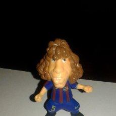 Figuras de Goma y PVC: COMANSI FIGURA DE PVC JUGADOR DEL F.C.BARCELONA CARLES PUYOL. Lote 101154083