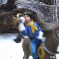 Figuras de Goma y PVC: EL CABO RUSTY Y CABALLO DE COMANSI. Lote 101214763