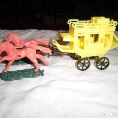 Figuras de Goma y PVC: DILIGENCIA AÑOS 60-70. Lote 101248487