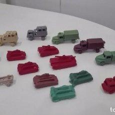 Figuras de Goma y PVC: MONTAPLEX LOTE CAMIONES TANQUES . Lote 101281107