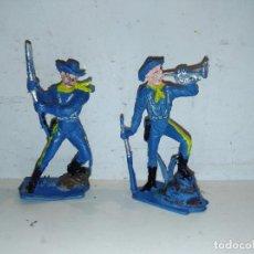 Figuras de Goma y PVC: FIGURAS YANKEES AMERICANOS NORDISTAS PECH PVC. Lote 101291279
