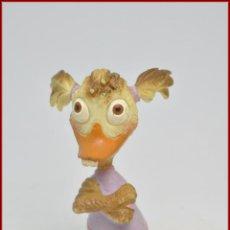 Figuras de Goma y PVC: DISNEY - CHICKEN LITTLE - BULLY BULLYLAND - ABBY MALLARD. Lote 101294631
