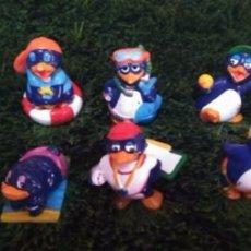 Figuras Kinder: LEER - COLECCIÓN COMPLETA PINGÜIPLAYA PINGÜINOS PINGUINOS HUEVO KINDER FERRERO - AÑO 1994. Lote 101303927