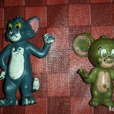 Figuras de Goma y PVC: MUÑECO DE GOMA LOTE TOM Y & JERRY COMICS SPAIN BULLY AÑOS 80. Lote 101318271
