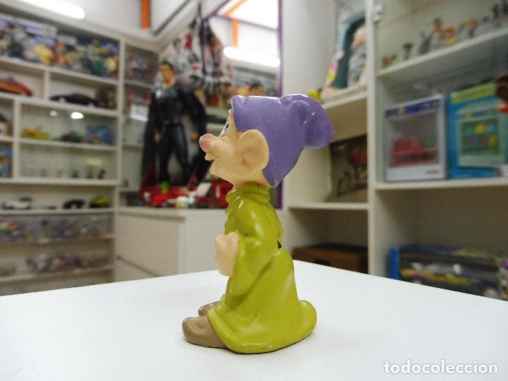 Figuras de Goma y PVC: Bully Bullyland Enanito enano Mudito Germany Walt Disney Figura Goma PVC blancanieves - Foto 2 - 101475315