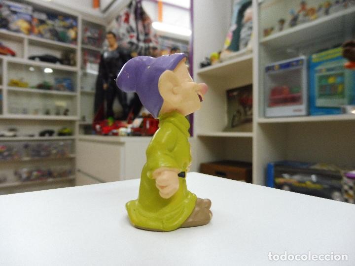 Figuras de Goma y PVC: Bully Bullyland Enanito enano Mudito Germany Walt Disney Figura Goma PVC blancanieves - Foto 4 - 101475315