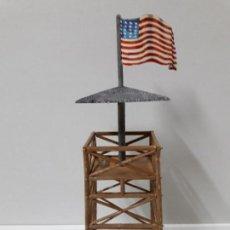 Figuras de Goma y PVC: TORRE DE VIGILANCIA PARA FUERTE . REALIZADA POR OLIVER . AÑOS 60 / 70 EN PLASTICO. Lote 101479683